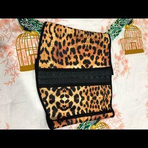 Amber Leopard Workout Corset